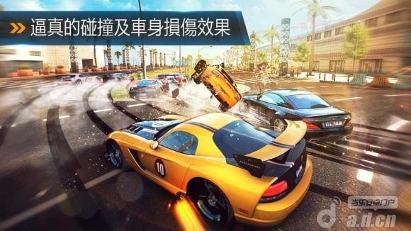狂野飆車8:極速凌雲修改版(含數據包) Asphalt 8: Airborne v1.1.1-Android竞速游戏類遊戲下載