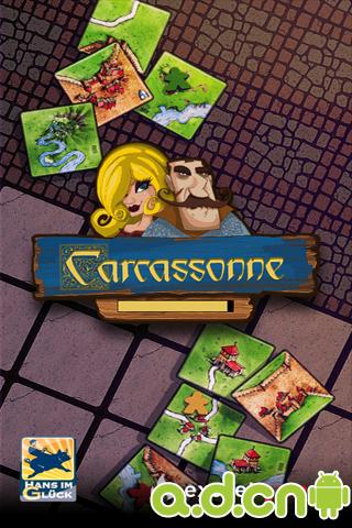 卡卡頌 Carcassonne v7-Android棋牌游戏免費遊戲下載