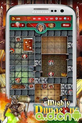 宏偉地下城 完整版 Mighty Dungeons v1.7.0-Android冒险解谜類遊戲下載