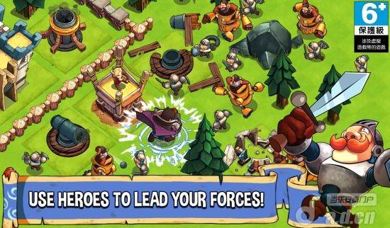 戰鬥英雄:帝國的衝突Battle Heroes:Clash of Empires v1.0.2-Android策略塔防類遊戲下載
