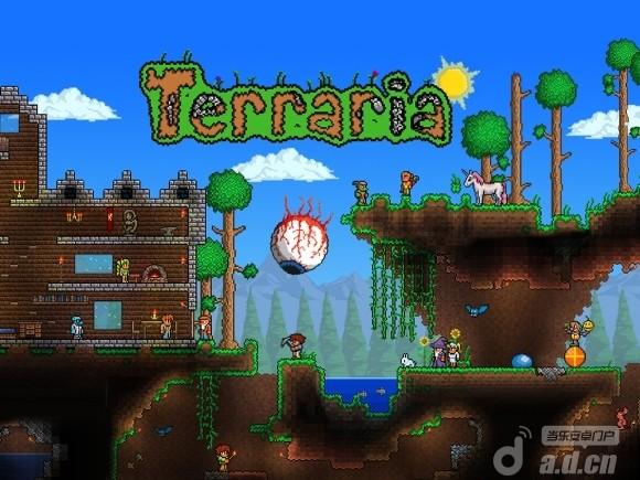 泰拉瑞亞 完整版 Terraria v1.04-Android冒险解谜類遊戲下載