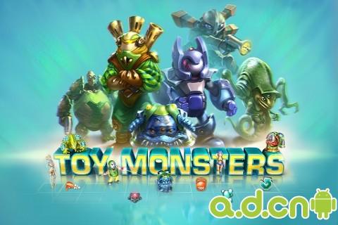 玩具怪獸(含數據包) Toy Monsters BETA v0.5.31-Android策略塔防免費遊戲下載