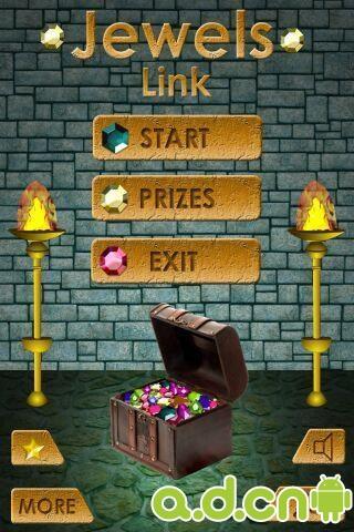 珠寶連接豪華版 Jewels Link Deluxe v1.3.4-Android益智休闲類遊戲下載
