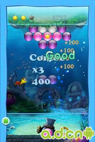 泡泡龍EX Bubble Shooter v2.0-Android益智休闲免費遊戲下載