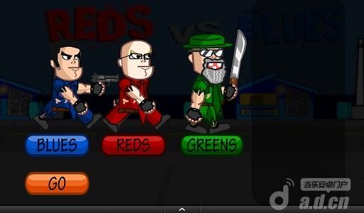 古巴殭屍 Reds vs Blues – Zombies DEMO v1.1.1-Android射击游戏免費遊戲下載