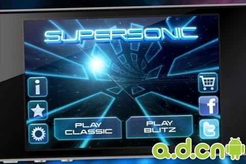 超音速隧道 Supersonic v2.0.6-Android竞速游戏免費遊戲下載