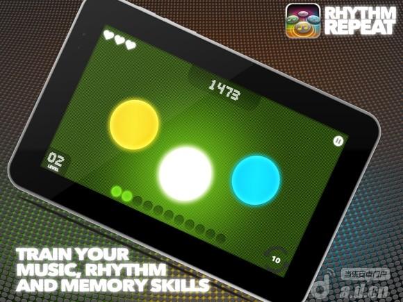節奏狂熱 Rhythm Repeat v2.0-Android音乐游戏免費遊戲下載