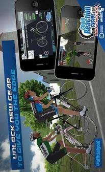 安卓竞速游戏《自行车大赛 CRC Pro-Cycling》