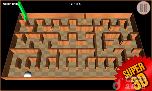 3D迷宮 v1.0,Maze 3D