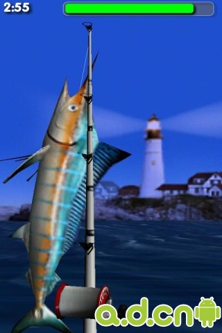 釣大魚精簡版 Big Sport Fishing Lite v1.65-Android益智休闲免費遊戲下載