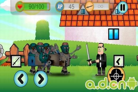 殭屍生死劫 Zombies:Run or Kill v1.1.9-Android益智休闲免費遊戲下載