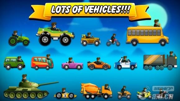 爬坡賽車 Hill Racing: mountain climb v2.6-Android益智休闲免費遊戲下載