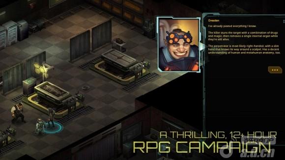 暗影狂奔:歸來 修改版(含資料包) Shadowrun Returns v1.0.5-Android角色扮演免費遊戲下載