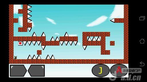 挑戰Android 機器人I wanna be the Android! v3.0-Android益智休闲免費遊戲下載
