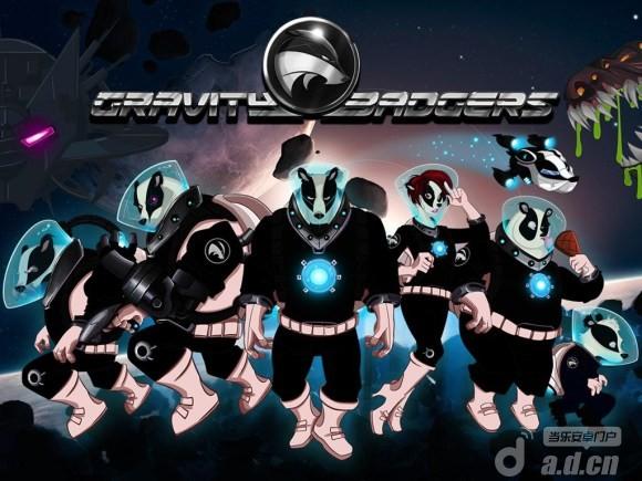 重力獾 Gravity Badgers v1.1.1-Android益智休闲免費遊戲下載