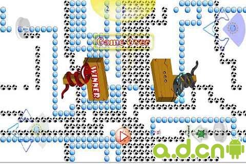 雙人貪吃蛇 SnakeRing v1.2-Android益智休闲類遊戲下載