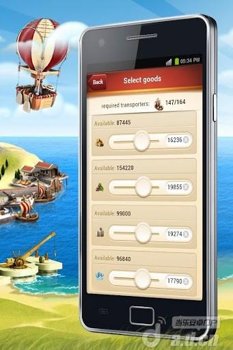 島嶼王國 Ikariam Mobile v1.4.3-Android模拟经营類遊戲下載