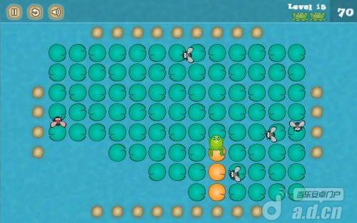 跳跳蛙 Jumping Frog (like Xonix) v1.2-Android益智休闲免費遊戲下載