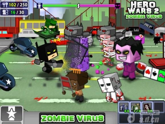 英雄戰爭2:殭屍病毒Hero Wars 2: Zombie Virus v1.0-Android策略塔防免費遊戲下載