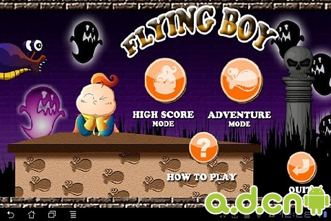 飛翔的小英雄 Flying Boy v1.3.3-Android益智休闲類遊戲下載
