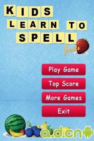 水果拼字 v1.4,Kids Learn to Spell