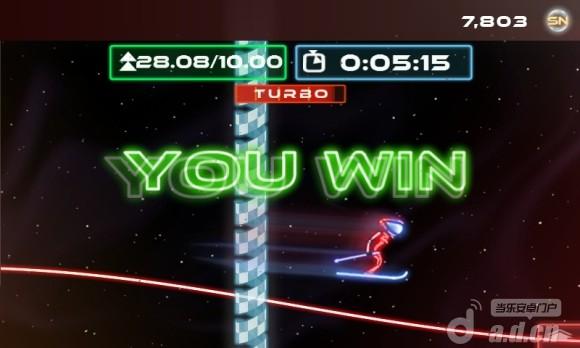 霓虹滑雪 Neon Ski v1.0.7-Android体育运动類遊戲下載