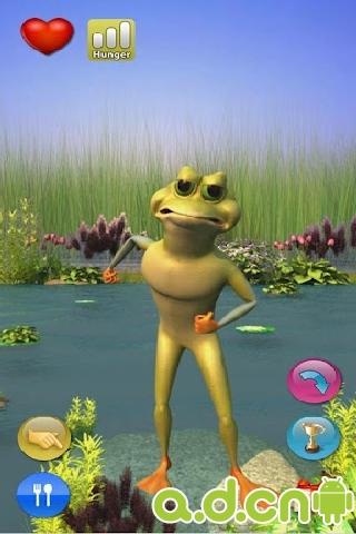 會說話的青蛙 Talking Crazy Frog v3.0.3-Android益智休闲免費遊戲下載