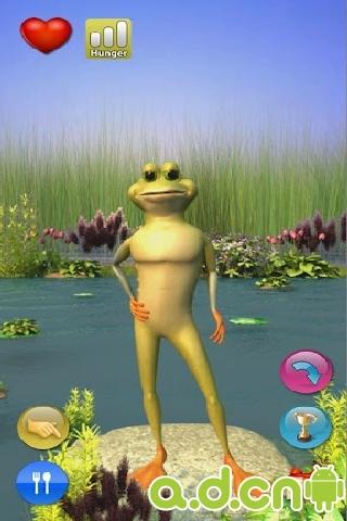 會說話的青蛙 Talking Crazy Frog v5.1-Android益智休闲類遊戲下載