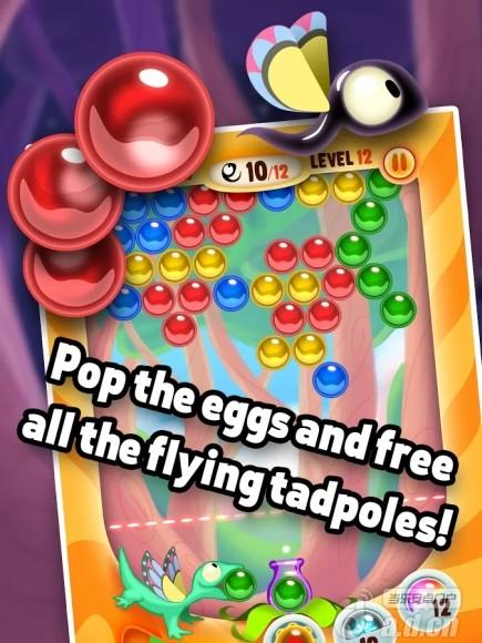 壁虎泡泡 Gecko Pop – Fun Bubble Shooter v1.1-Android益智休闲免費遊戲下載