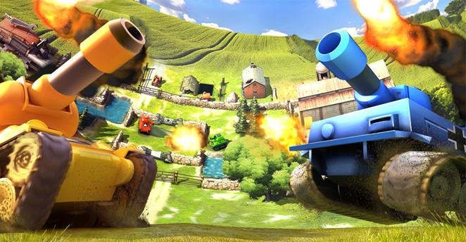 今天为大家介绍的这款游戏《坦克大战 tank battles》是一款来自于