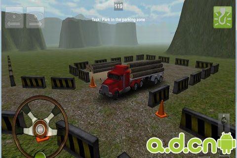 卡車停車3D豪華版Truck Parking 3D Pro Deluxe v2.5-Android益智休闲免費遊戲下載