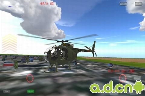 武裝直升飛機3 精簡版(含數據包) Gunship III FREE v3.3.1-Android飞行游戏類遊戲下載