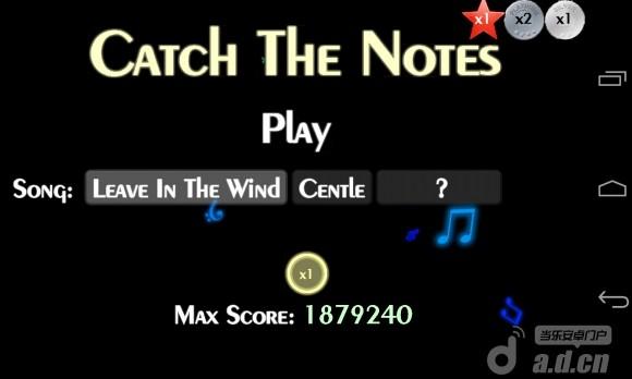 抓住音符 Catch The Notes Free v1.0-Android音乐游戏免費遊戲下載