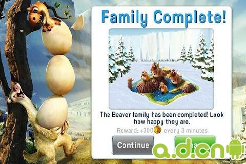 冰河世紀(含數據包) Ice Age Village v2.2.0-Android模拟经营類遊戲下載
