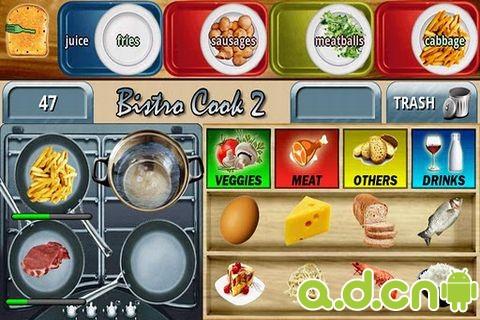酒館廚師2 Bistro cook 2 v1.3.7-Android益智休闲免費遊戲下載