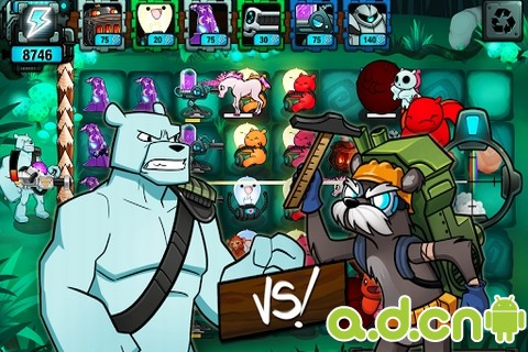 皇家戰熊森林之戰Battle Bears Fortress v1.1.1-Android策略塔防免費遊戲下載