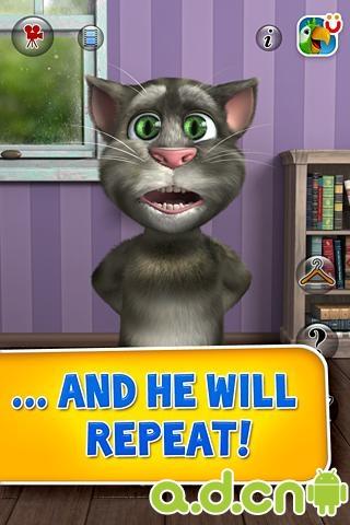 《会说话的汤姆猫2 Talking Tom 2》