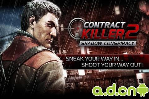 職業刺客任務2(含資料包) CONTRACT KILLER 2 v3.0.1-Android射击游戏免費遊戲下載