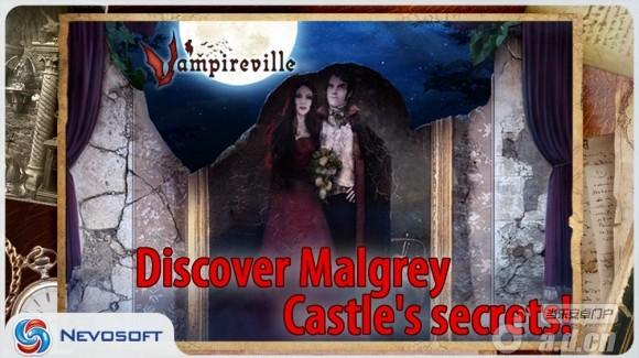 吸血鬼城堡:幽靈莊園 精簡版(含資料包) Vampireville: spooky manor v1.0-Android冒险解谜免費遊戲下載