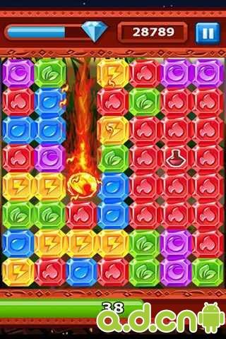 飛爆鑽石 Diamond Dash v2.2.1 (22112)-Android益智休闲免費遊戲下載