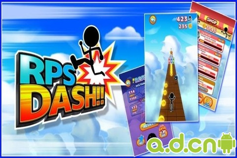 RPS跑酷 RPS DASH v1.15-Android益智休闲免費遊戲下載