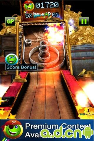 卡通保齡球 Ball-Hop Bowling v1.5.0-Android益智休闲免費遊戲下載