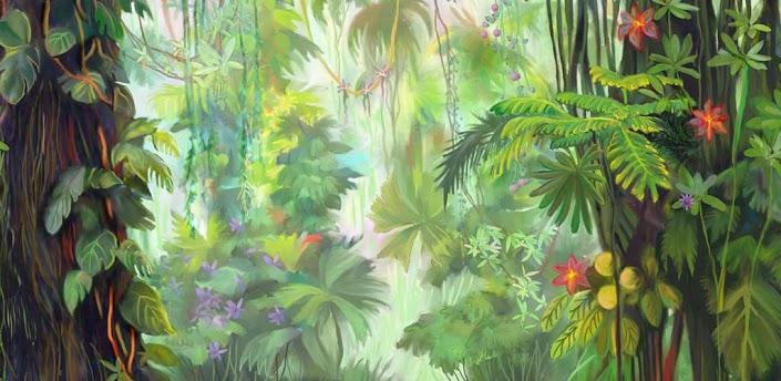 >>发光丛林动态壁纸