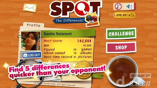 點出不同:挑戰! Spot Differences: Challenge! v1.2-Android益智休闲免費遊戲下載