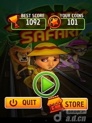 地鐵衝浪 Subway Safari v1.0-Android益智休闲免費遊戲下載