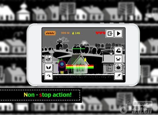 機械雞跑酷Dubstep Runner – electro game v1.0-Android动作游戏類遊戲下載