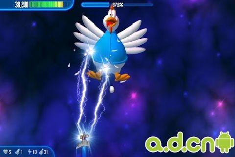 小雞入侵者3 高清版Chicken Invaders 3 v1.09ggl-Android射击游戏遊戲下載