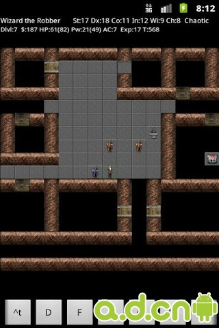 NetHack地下城 NetHack v1.3.3-Android角色扮演免費遊戲下載