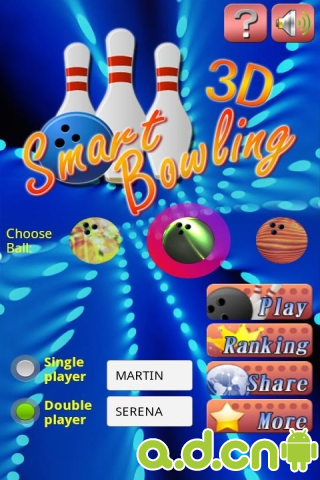 智慧保齡球3D SMART BOWLING 3D v3.1.2-Android体育运动免費遊戲下載
