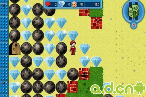鑽石小子 Boulder Dash-The Collection v1.4.8-Android益智休闲類遊戲下載